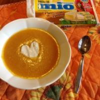 Cuore Mio (Vellutata di carote e zucca con formaggino)