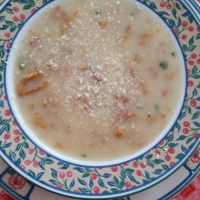 Zuppa di finferle freschissime