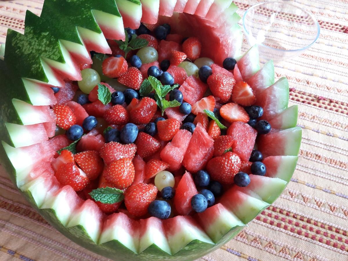 Cesto di frutta...estiva!